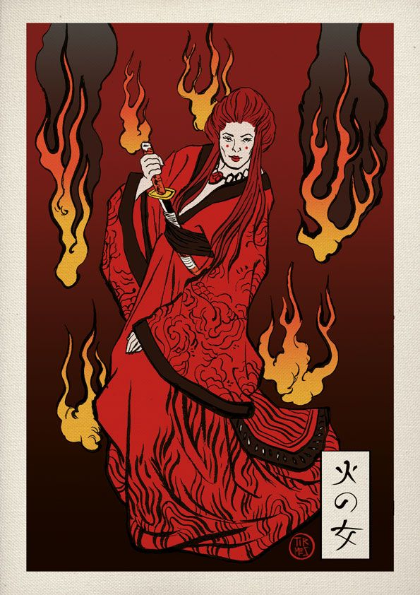 Game of thrones melissandre fire witch