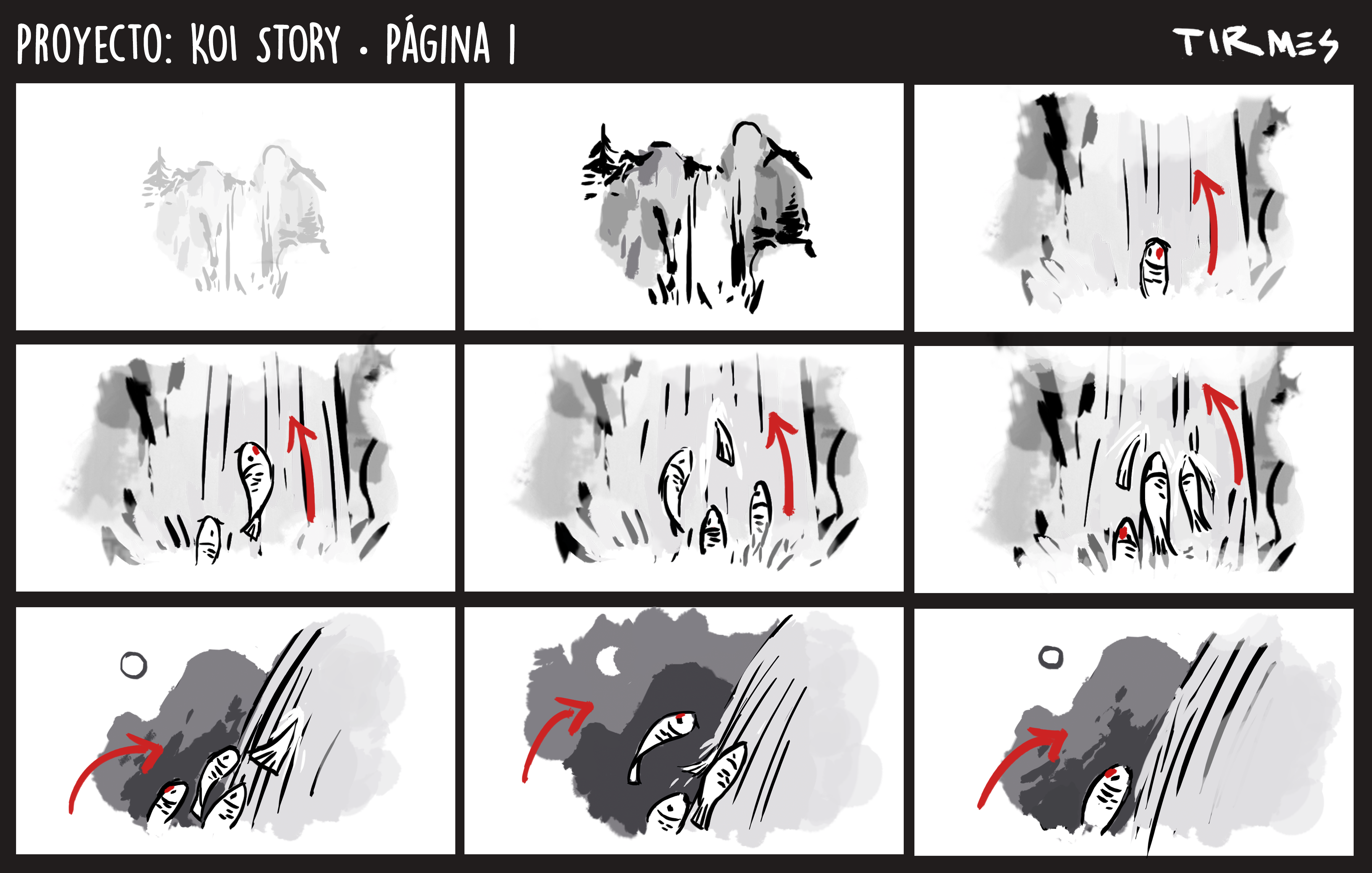 Storyboard page 1